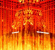 Rivers of fire, las vegas by CliveHarris