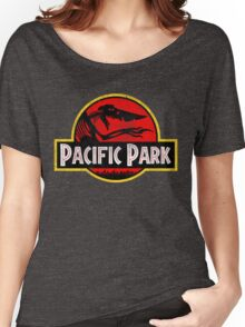 Pacific Park - Jurassic Red Version Women's Relaxed Fit T-Shirt