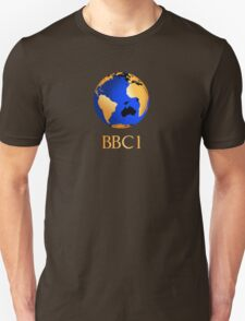 BBC computer originated world (globe) COW logo Unisex T-Shirt