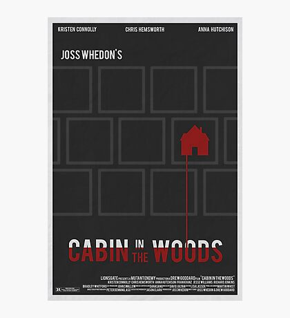 Cabin In The Woods Photographic Print