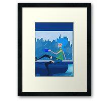 Feeling Blue....In A Good Way Framed Print