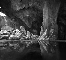 The Black Pool. Cathedral Cave, Little Langdale. English Lake District by rennaisance