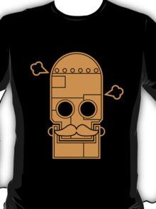 Mexican steampunk robot orange T-Shirt