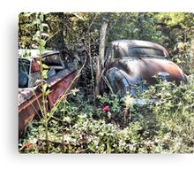 """Long Term Off Road Parking ""... prints and products Metal Print"
