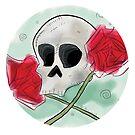 Skull 'n Roses by BloodyFace