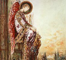 Angel Traveler by Bridgeman Art Library