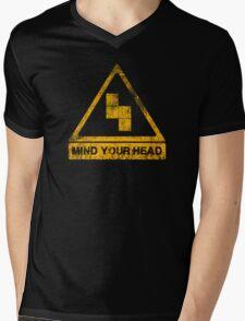 MIND YOUR HEAD Mens V-Neck T-Shirt
