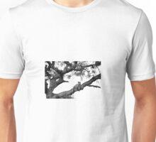 Leopard in a tree Unisex T-Shirt