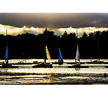 Evening Sails Photographic Print