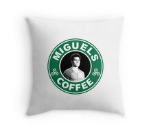 Miguels Coffee Throw Pillow