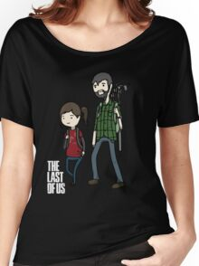 The Last of us Adventure Time Women's Relaxed Fit T-Shirt