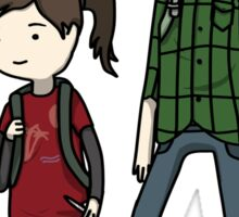 The Last of us Adventure Time Sticker