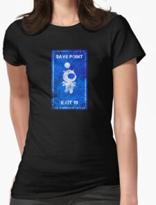 MOOGLE SAVE POINT Womens Fitted T-Shirt