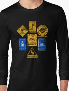 USEFUL SIGNS Long Sleeve T-Shirt