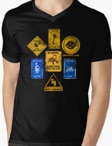 USEFUL SIGNS Mens V-Neck T-Shirt