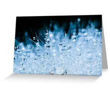 Spikes & Drops II Greeting Card