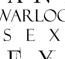 Magnus Bane: Sexy Warlock Sticker
