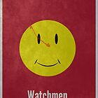 Watchmen Minimal Print by Tommy Brown