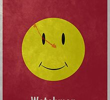 Watchmen Minimal Print by Tom Brown