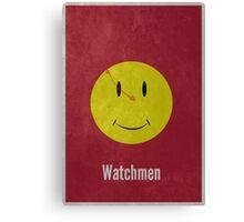 Watchmen Minimal Print Canvas Print