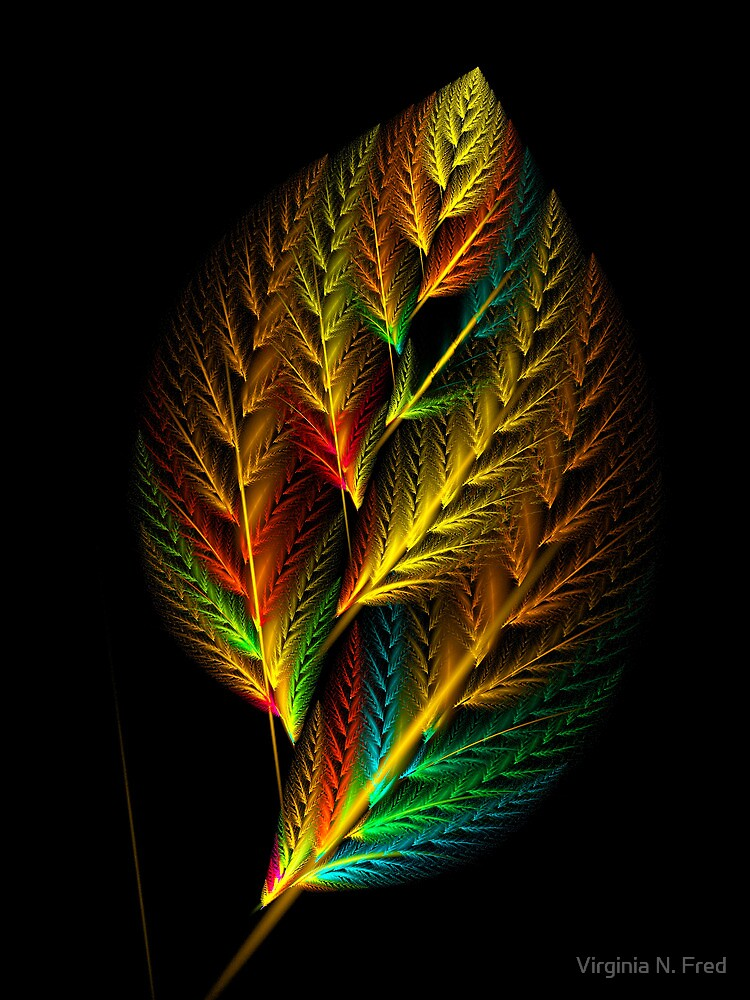 Leaf by Virginia N. Fred