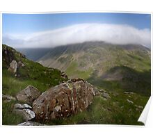 Blanket over Great Gable Poster