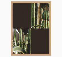 Cactus Garden Blank Q3F0 Kids Clothes