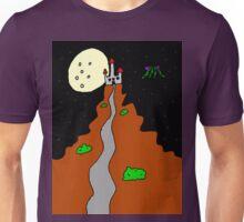 Castle Path at Night Unisex T-Shirt