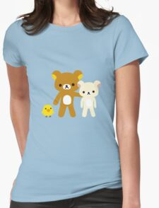 Misc - Rilakkuma and friends Womens Fitted T-Shirt