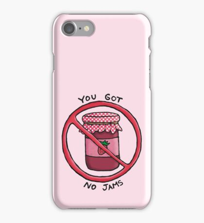You got no jams (literally) - Rap Monster (BTS) iPhone Case/Skin