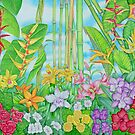 Botanical Tropical Watercolour by joeyartist