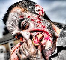 Zombie Eating Foot by Noam  Kostucki