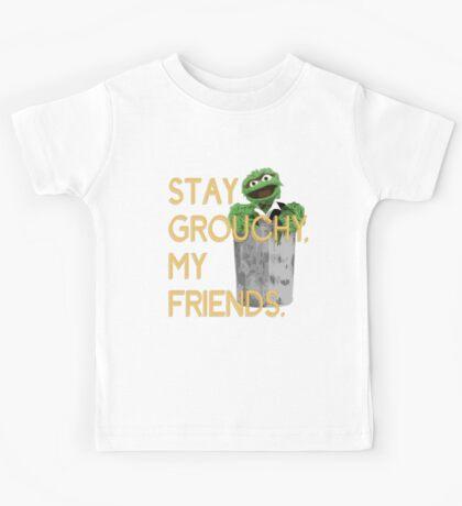 Stay Grouchy Kids Tee