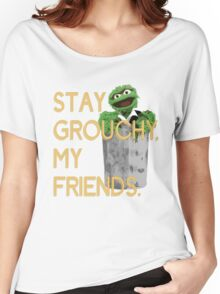 Stay Grouchy Women's Relaxed Fit T-Shirt