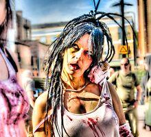 Hot Female Zombie by Noam  Kostucki
