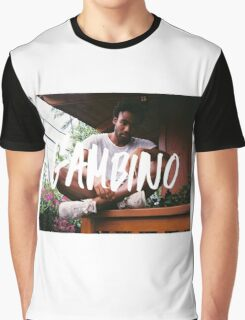 Childish Gambino Type Graphic T-Shirt
