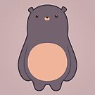 Beary Chubby Bear by geraldbriones