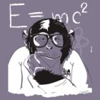 scientific monkey by shucko
