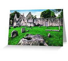 St Bridget's Kirk Greeting Card