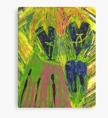 Korean 2 Canvas Print