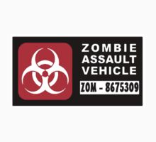 Zombie Assault Vehicle Walking Walker Dead Funny  by sturgils