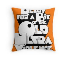 Sharpen you Up Throw Pillow