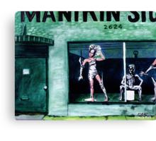 'CHARLOTTE MANiKIN STUDIO' Canvas Print