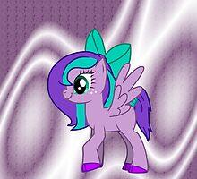 Custom Made Purple Pony by Indiajasmine