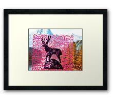 Mountain Momma Framed Print