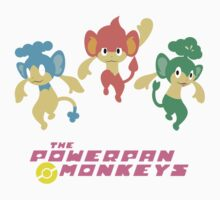 The Powerpan Monkeys Kids Tee