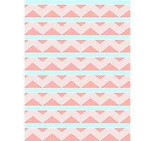 Pastel Pattern Photographic Print