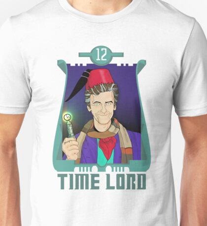 Time Lord 12 Unisex T-Shirt