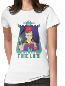 Time Lord 12 Womens Fitted T-Shirt