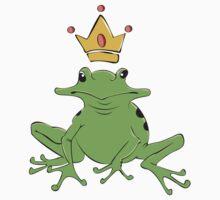 King Frog Baby Tee
